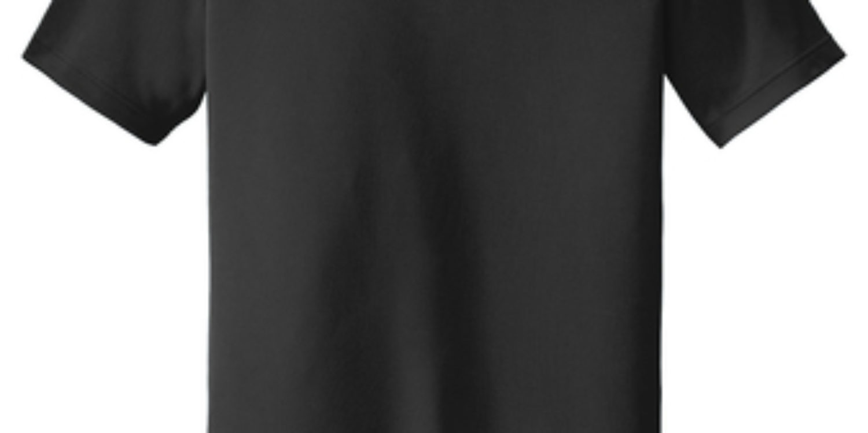 Branded Black Polo